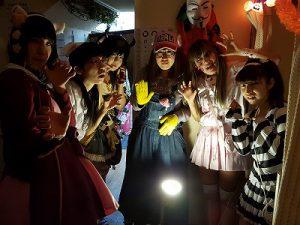 ハロウィンイベントの写真